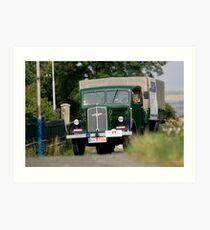 Classic Trucks # 5 Art Print