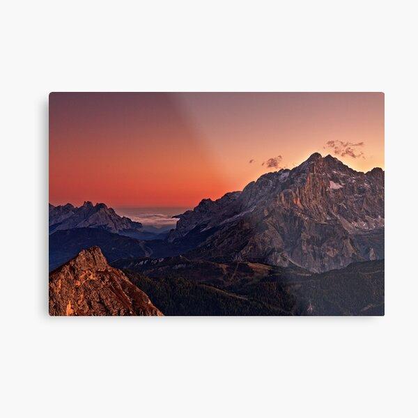 Cernera sunset Metal Print