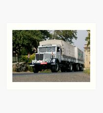 Classic Trucks # 9 Art Print