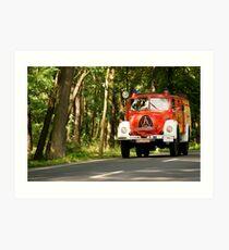 Classic Trucks # 10 Art Print