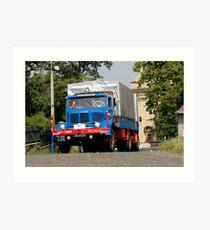 Classic Trucks # 11 Art Print