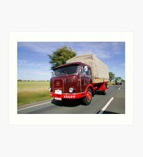 Classic Trucks # 12 Art Print