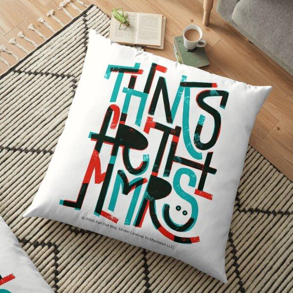 Thnks Fr Th Mmrs Floor Pillow