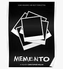 Memento film poster Poster
