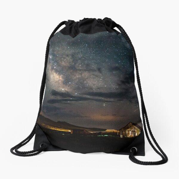 Leaving the Light On Drawstring Bag