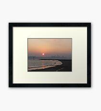 LIVERPOOL SKYLINE Framed Print
