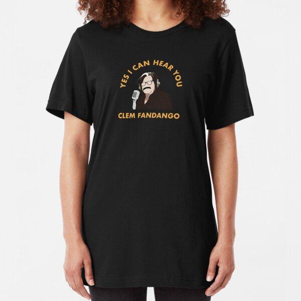 Yes I Can Hear You Clem Fandango Slim Fit T-Shirt