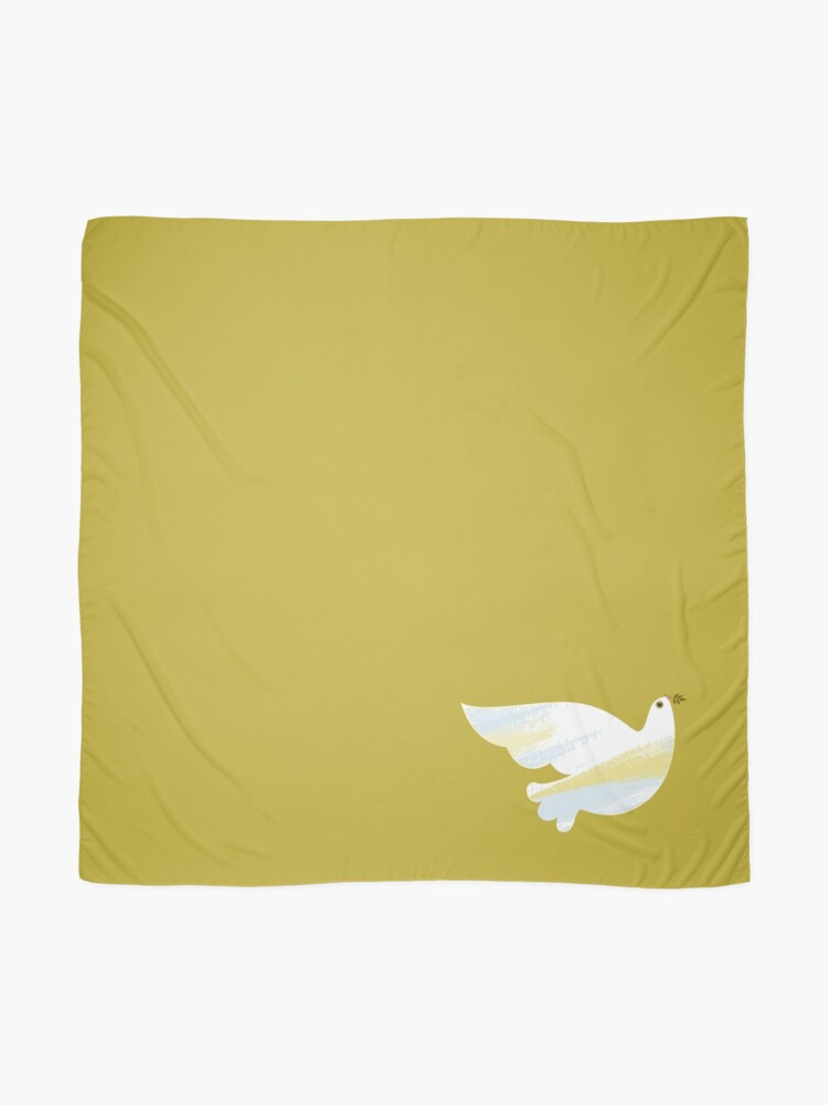 Alternate view of Christmas Dove Scarf