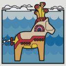 Dala Submarine: Sea of Dalas! by JoesGiantRobots