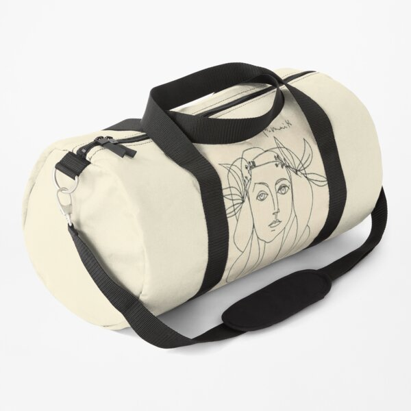 HEAD 1946 : Vintage Abstract Print Duffle Bag