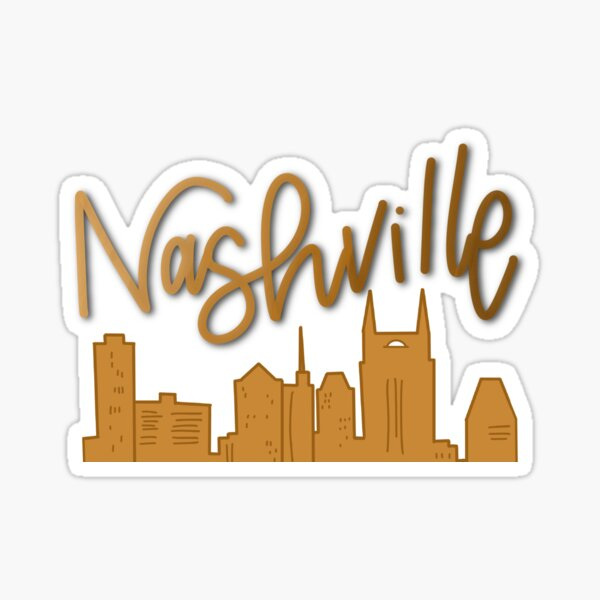 Nashville Skyline - Yellow Sticker