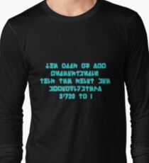 The Odds Are 3720 to 1, in Aurebesh Long Sleeve T-Shirt