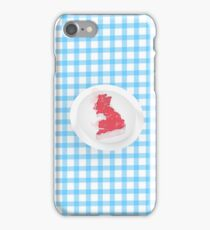 Britain on the Menu iPhone Case/Skin