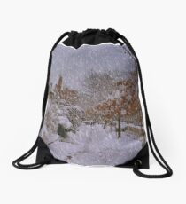 Never ending winter Drawstring Bag