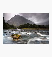 Fiordland National Park at its Best Photographic Print