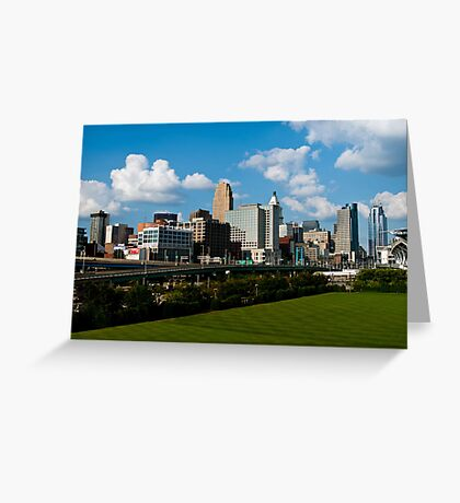 Cincinnati Skyline 9 Greeting Card