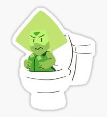 Toilet Gem Sticker