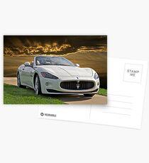 2011 Maserati Gran Turismo Postcards