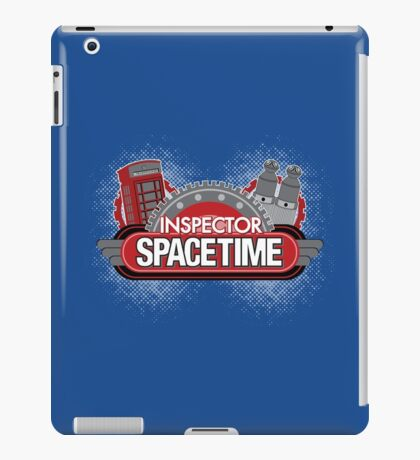 Inspector Spacetime Blorgon Edition iPad Case/Skin
