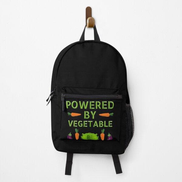Vegetable Powered Backpack