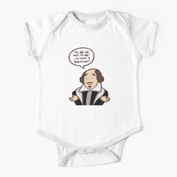 Shakespeare Short Sleeve Baby One-Piece