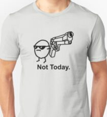 The Captioned Not Today Potato Asdfmovie Tribute Unisex T-Shirt