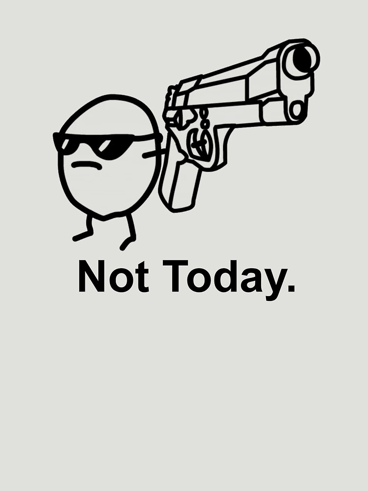 The Captioned Not Today Potato Asdfmovie Tribute | Unisex T-Shirt