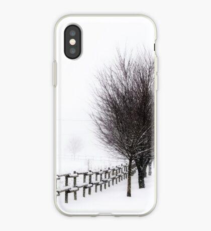 The Magic of Snow iPhone Case
