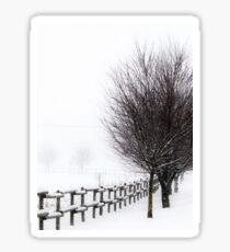 The Magic of Snow Sticker