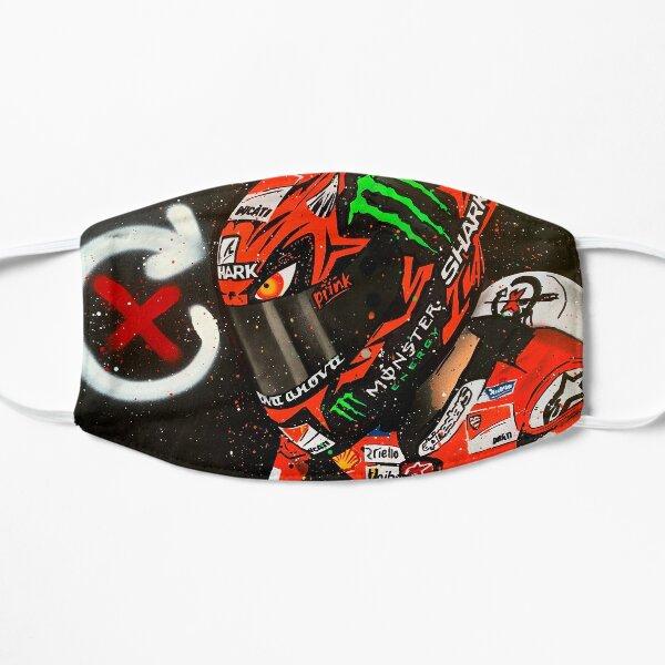 Jorge Lorenzo, Ducati - MotoGP graffiti painting by DRAutoArt Flat Mask