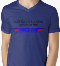 Call Kenny Loggins, You're in the DANGER ZONE Men's V-Neck T-Shirt