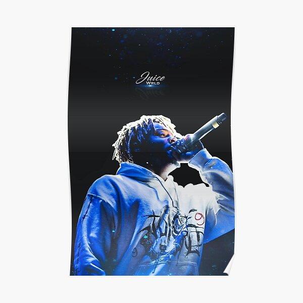 Juice WRLD - T-shirt, hoodie, case, poster, sticker Poster