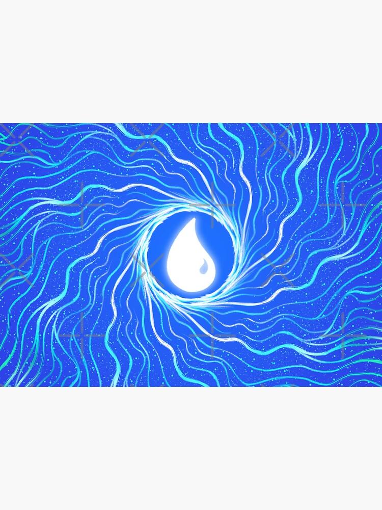 Minimalist Mana Water II by njonestees