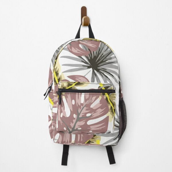 Tropical seamless rose pattern Backpack