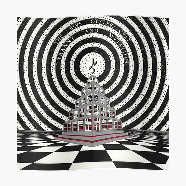 Blue Oyster Cult - Tyranny and Mutation Poster