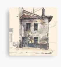 House in Guardo Canvas Print