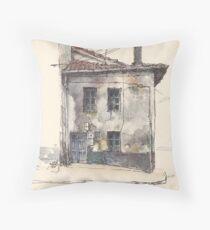 House in Guardo Throw Pillow