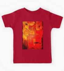 """""""Orange Abstract"""" Kids Clothes"""