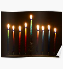 Hanukkah Lights Last Night Poster
