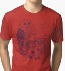 Owl Movement Tri-blend T-Shirt