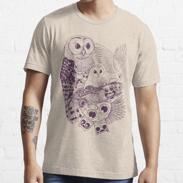 Movimiento de búho Camiseta esencial