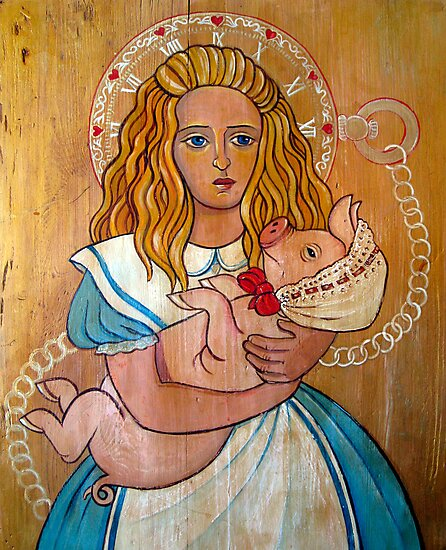 Alice and Pig by Ivy Izzard