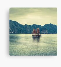 The Sailing of History Canvas Print