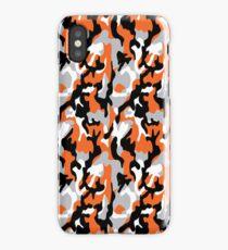 Orange Camoflauge iPhone Case/Skin