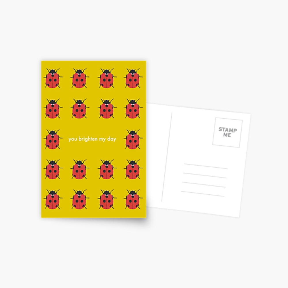 You Brighten My Day - Any Occasion Card Postcard