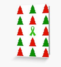 O' Christmas Tree! (Lyme Awareness)  Greeting Card