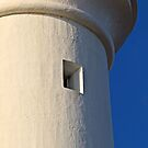 Lighthouse Close up by Don Stott