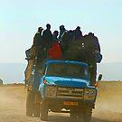Maasai Overload, Tanzania, Aftica by Adrian Paul