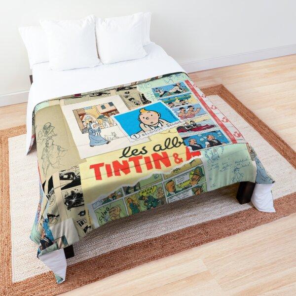 Tintin Collage 4 Comforter