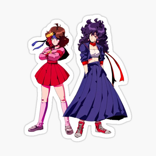 Game Gyaru Grumps - Anime Girl  Sticker